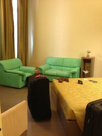 "Bed & Breakfast Diamante e Smeraldo: The ""living room"""