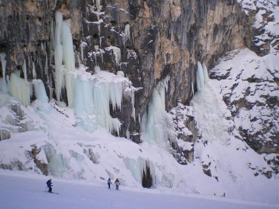 Lagazuoi: Cascate ghiaccio