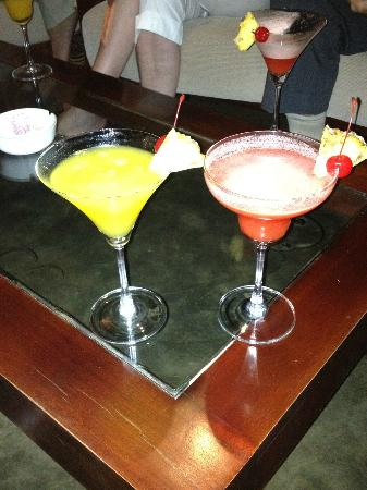 Good selection of cocktails!