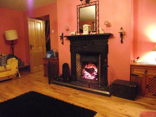 Derg View House: FAMILY ROOM COAL/LOG FIRE