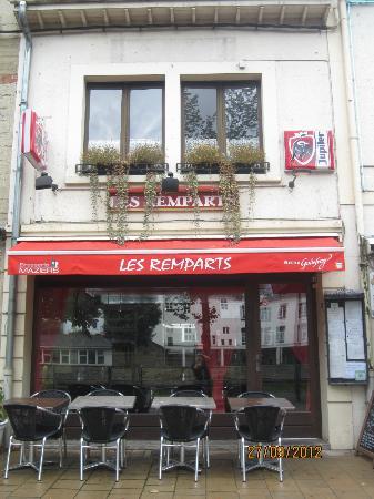 Bouillon, Belçika: Restaurant