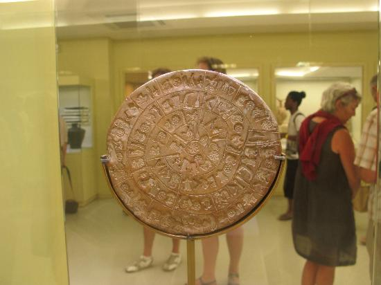 Heraklion Archaeological Museum: hieroglyph seal