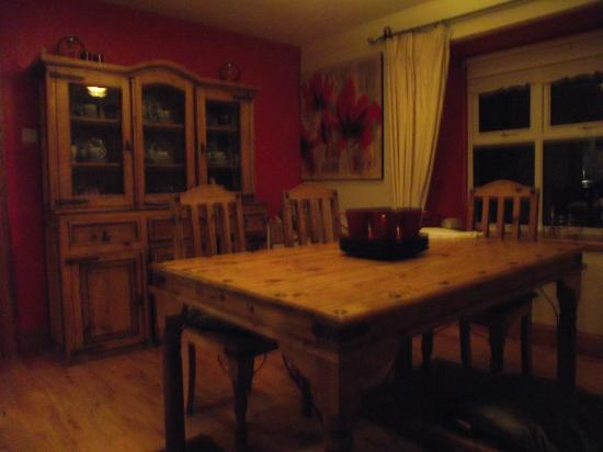 Derg View House: DINNING ROOM