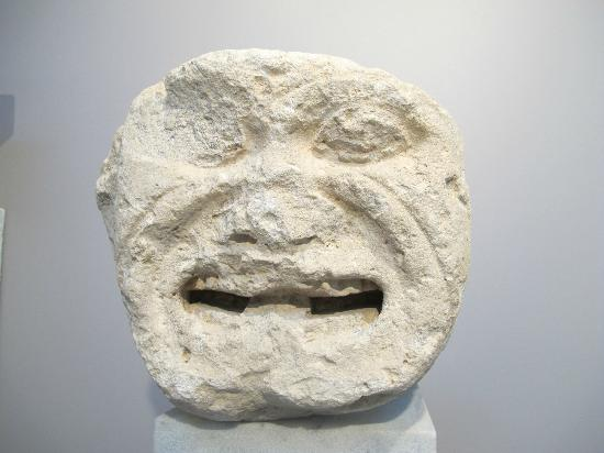 Heraklion Archaeological Museum: Meduzza head