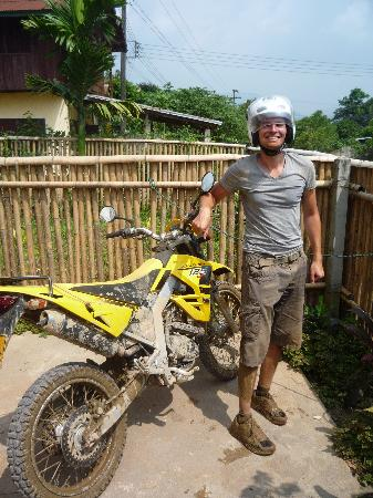 Vang Vieng, Laos: A lot of dirt and a big smile