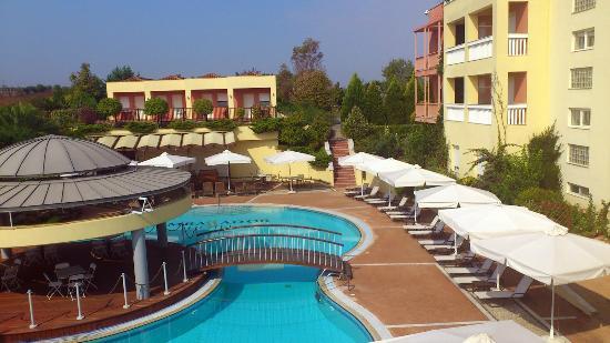 Ambassador Hotel Thessaloniki: Vom Zimmer aus gesehen