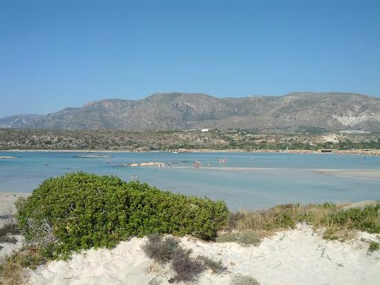 Elafonissi  Beach: remarkable view