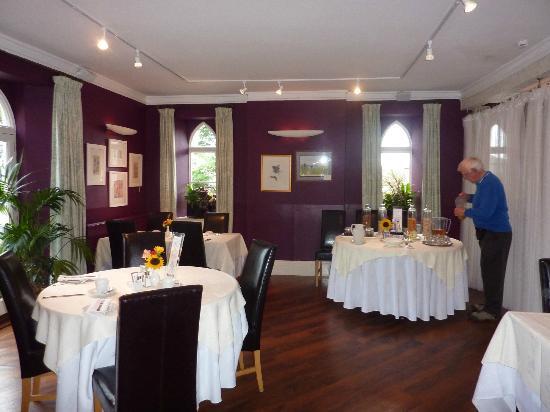 Lifton Hall Hotel: Brakfast and dining room