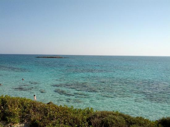 Elafonissi  Beach: Blue/Green Water