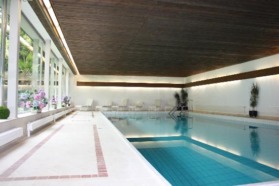 Hotel Wildstrubel : Piscine couverte