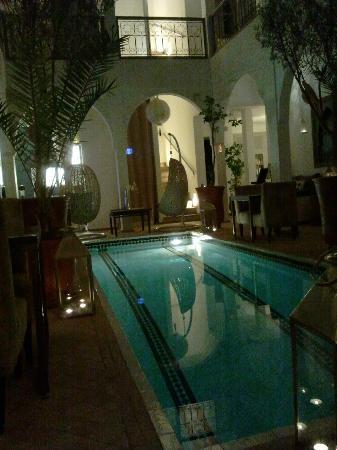 Riad Utopia Suites & Spa: patio