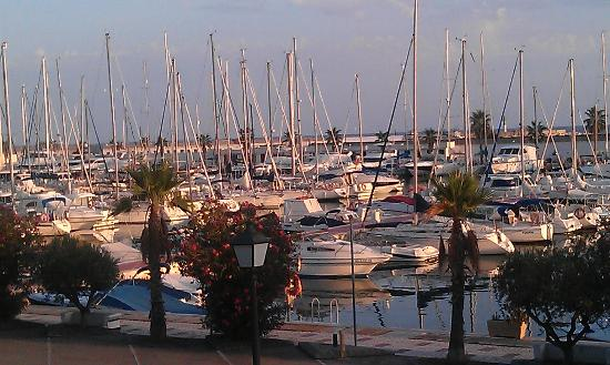Hotel Port Sitges: View of marina from my room