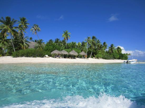 Tikehau Ninamu Resort: Mare