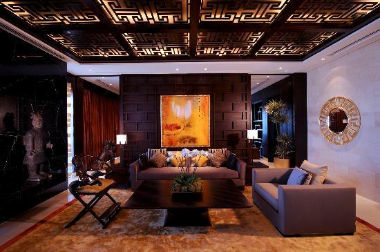 Charming Raffles Dubai: Raffles Asian Royal Suite