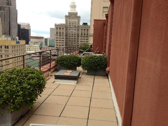 International House Hotel : Balcony