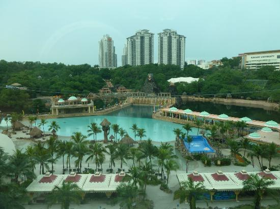 Sunway Resort Hotel & Spa: View of Sunway Lagoon Water Park