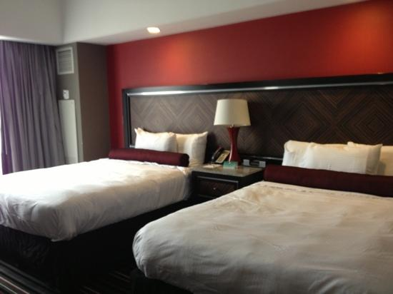 Hard Rock Hotel and Casino Tulsa: Double beds