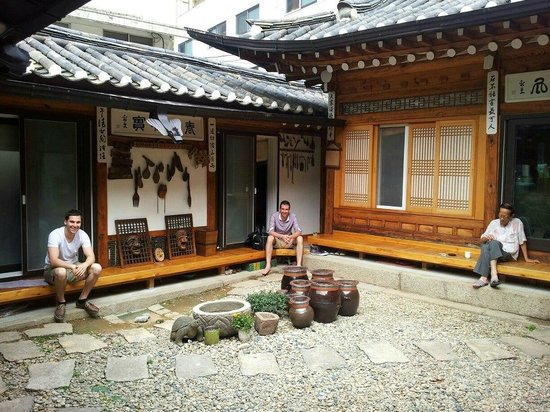 Hanok Guesthouse Eugene's House : Take rest in the Hanok Eugene's Guesthouse
