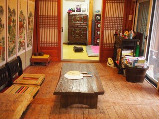 Hanok Guesthouse Eugene's House: Hanok Eugene's Guesthouse Family(Group) room(Private Bathroom)