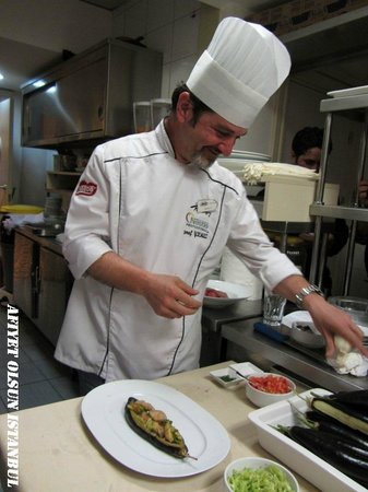 Afiyet Olsun Istanbul-  Cooking Workshop: Hard working Chef Mr. Seref