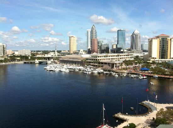 Westin Tampa Harbour Island: View from our 12th floor room
