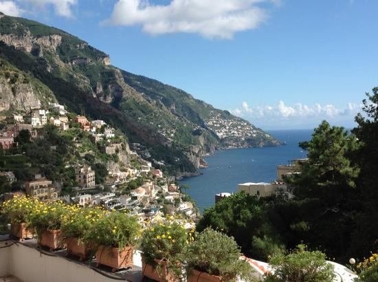 Hotel Royal Positano : view from the hotel roof