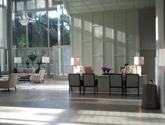 Oriental Residence Bangkok: Reception