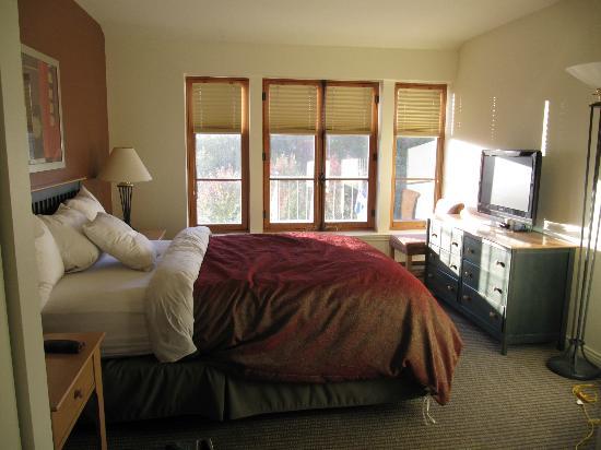 Homewood Suites Mont-Tremblant: Chambre des maîtres