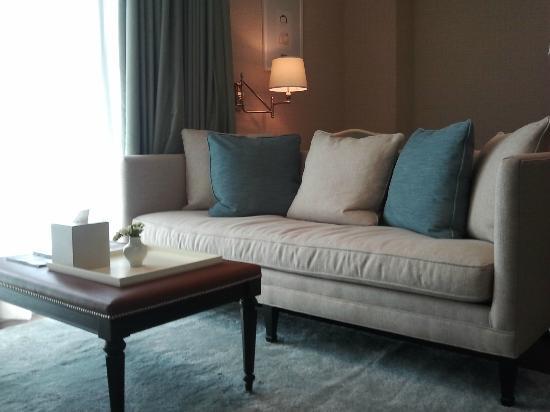 Oriental Residence Bangkok: Sitting lounge