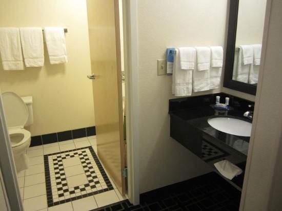 Fairfield Inn Lake Charles Sulphur: Clean bathroom