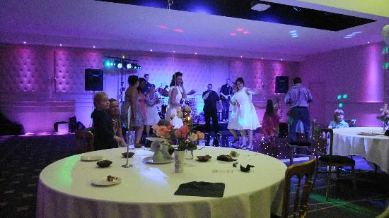 Bannatyne Spa Hotel: Dance floor in Montgomerie Suite