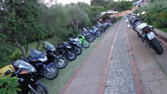 Hotel Club Saraceno: Great for motorbikers, too!