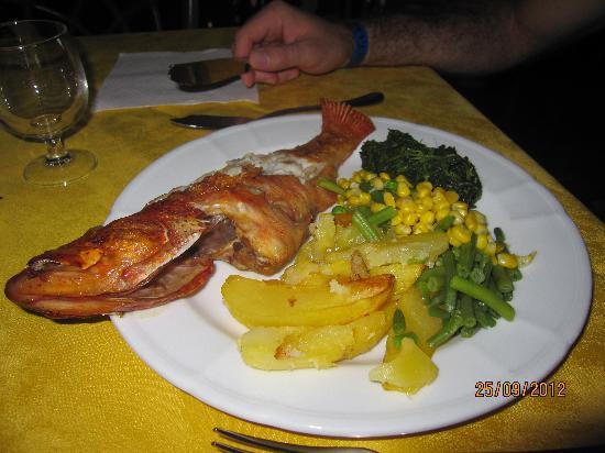Crioula Club Hotel & Resort: esempio di pranzo