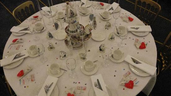 Bannatyne Spa Hotel: Wedding breakfast table