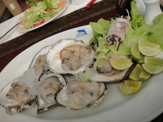 Tantawan Restuarant: Oyster... taste fresh tho...