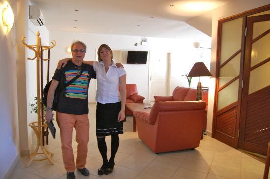 Buro Panzio: la proprietaria Edina molto disponibile e simpatica