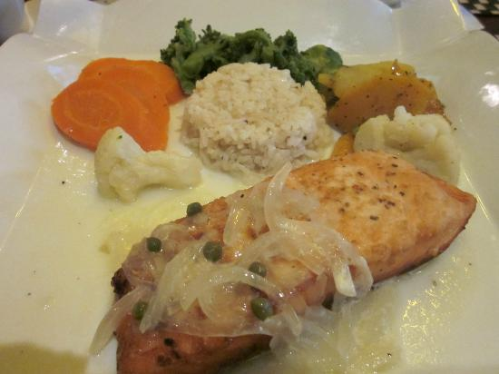 Brussels Bistro: Chilean Salmon with Vegetables