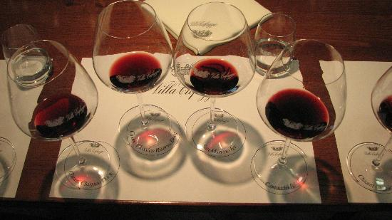 Tuscan Wine Tours by Grape Tours : The second tasting of the day