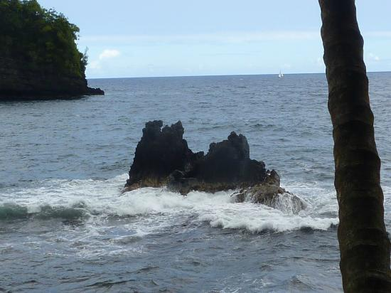 Hawaii Tropical Botanical Garden: The two Rocks