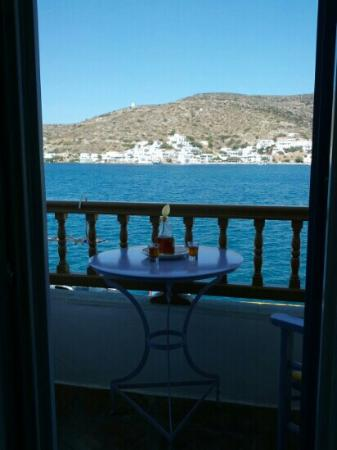 Amorgos Studios: beautiful view from the balcony