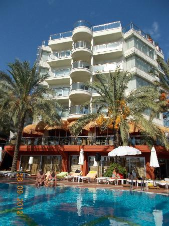 Elegance Hotels International, Marmaris : Rear of the hotel