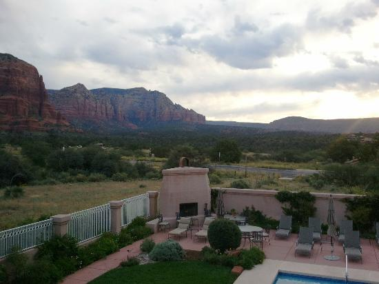 Canyon Villa Bed and Breakfast Inn of Sedona: Red Rocks View