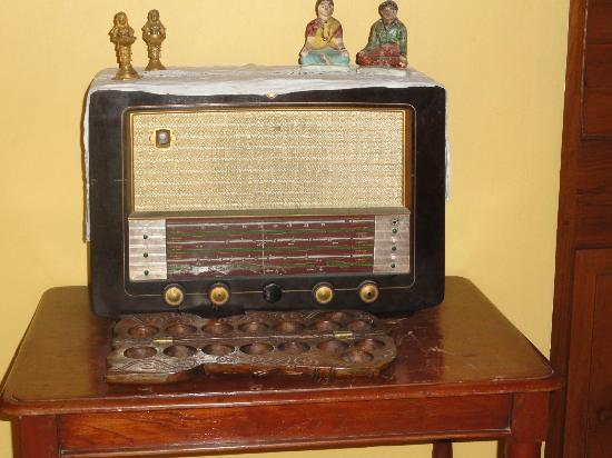 Les Hibiscus: An old style radio