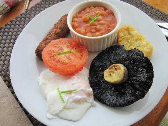 Little Leaf Guest House: Full Vegetarian English Breakfast