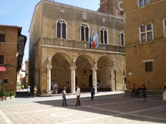 Arca di Pienza: La piazza principale di Pienza
