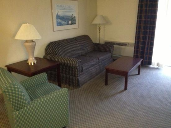 Quality Inn & Suites: beautiful living room in our suite