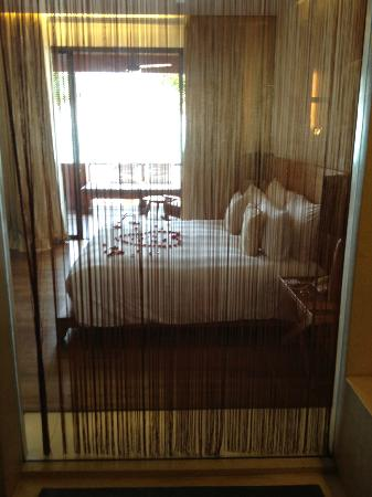 Hansar Samui Resort: view from the shower!