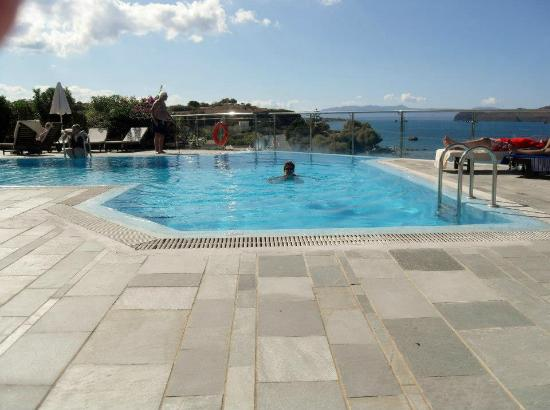 Panorama Hotel - Chania: our pool