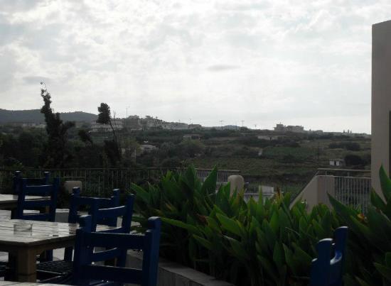 بانوراما هوتل: view from platanias 