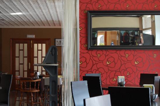 Hotel Paris: Caferería